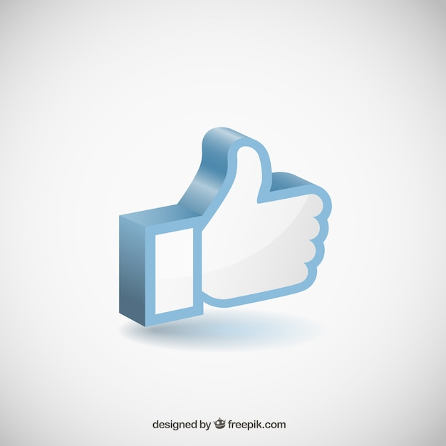 Like hand icon Free Vector