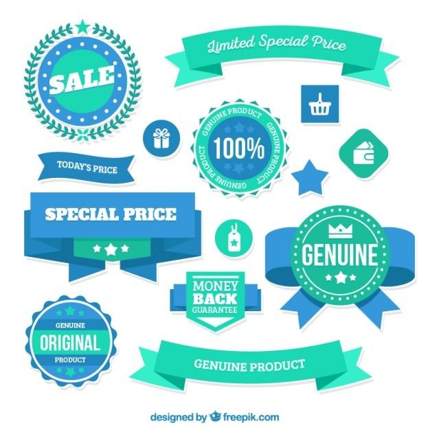 Limited special price badges Premium Vector
