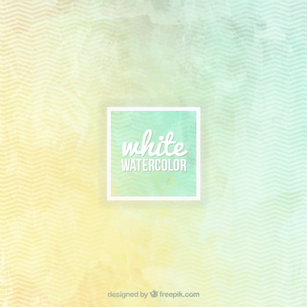 Line background in watercolor Free Vector
