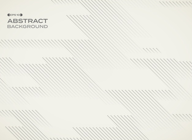 Line geometric pattern repeation background with space. Premium Vector