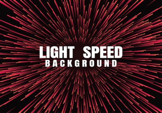 Lines composed of glowing backgrounds Premium Vector