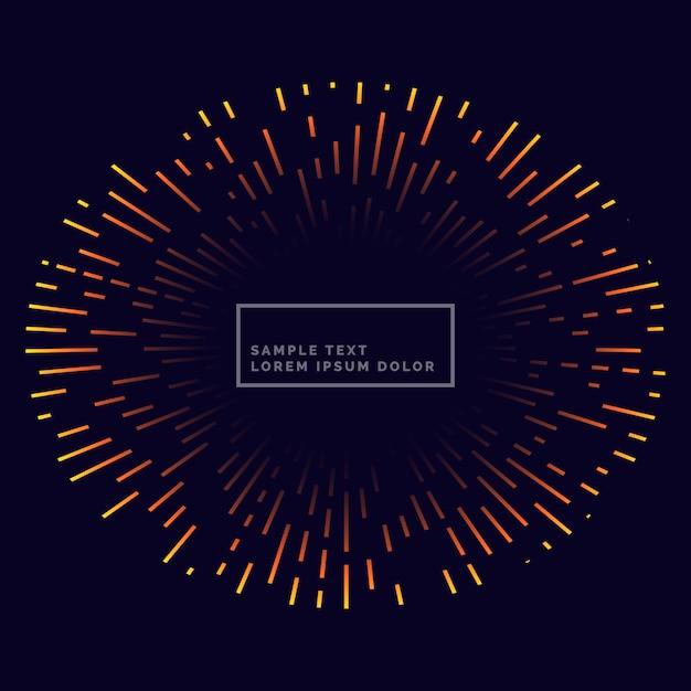 lines firework backgorund vector design Free Vector