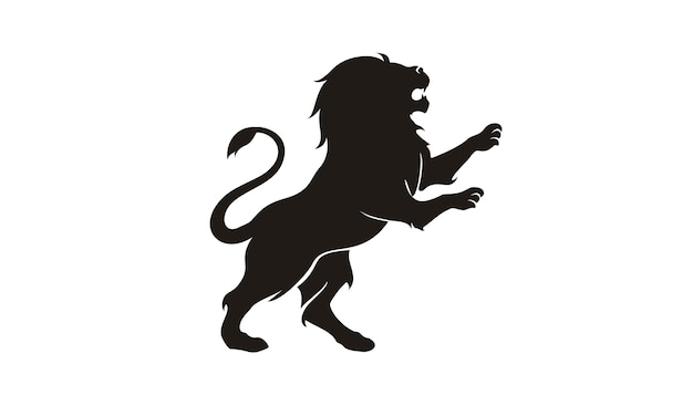 Lion logo design inspiration Premium Vector