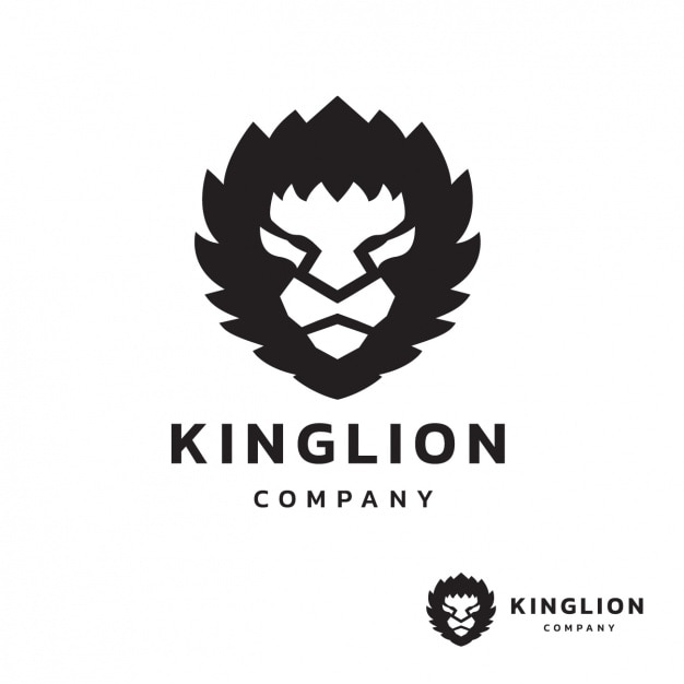 lion logo template vector | free download