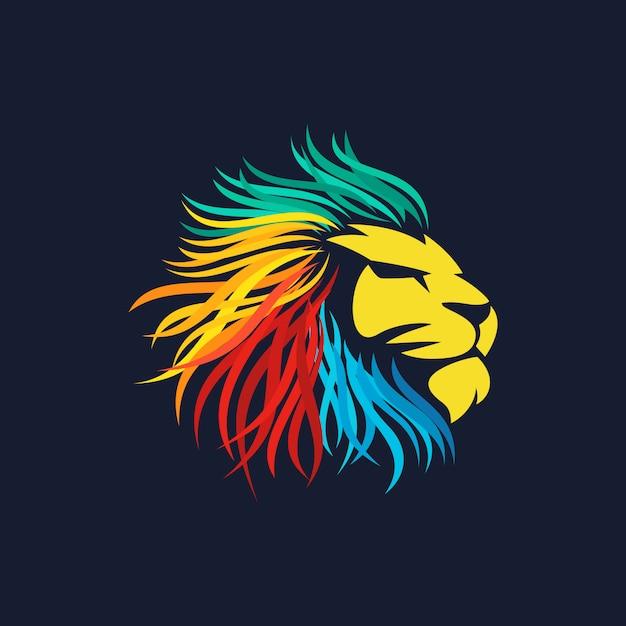 ライオンのロゴのベクトル Premiumベクター