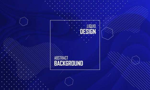 Liquid color abstract background design. fluid gradient background. Premium Vector