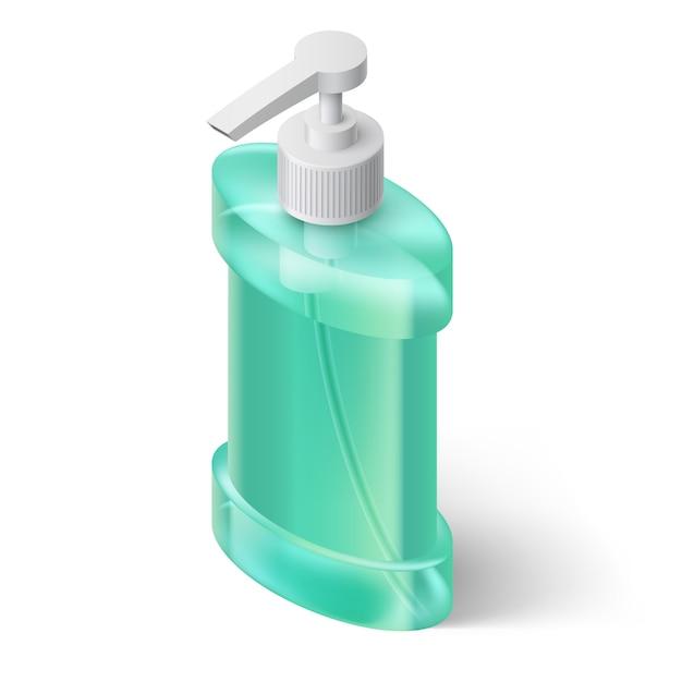 Иллюстрация дозатора жидкого мыла Premium векторы