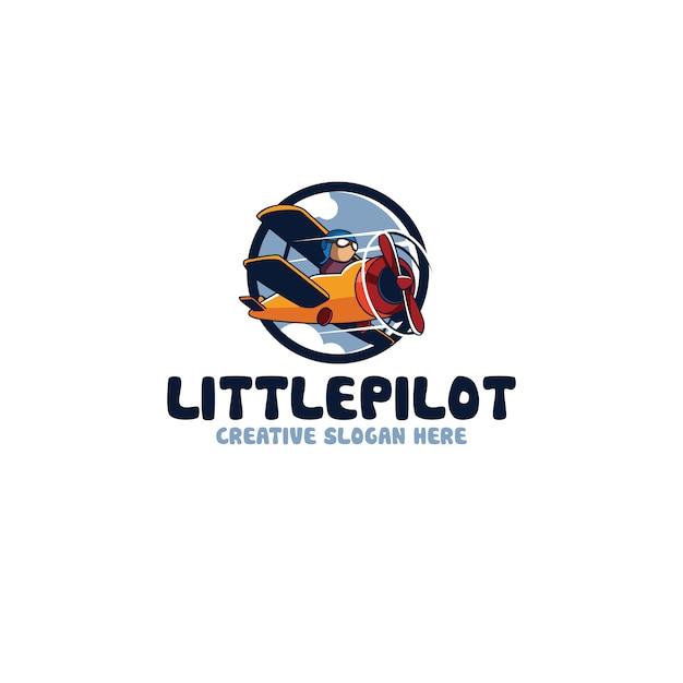 Little pilot Premium Vector