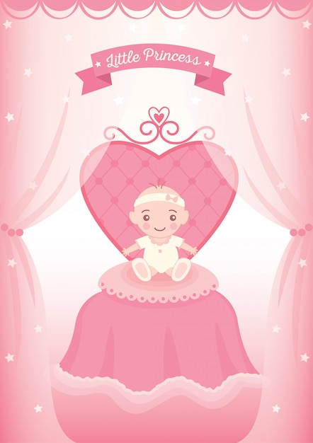 Little princess Premium Vector