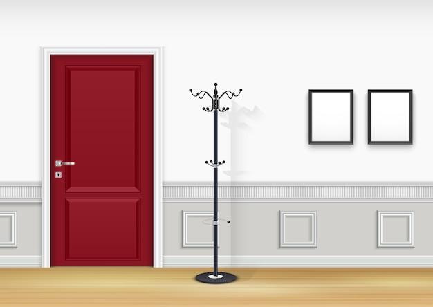 Интерьер гостиной Premium векторы