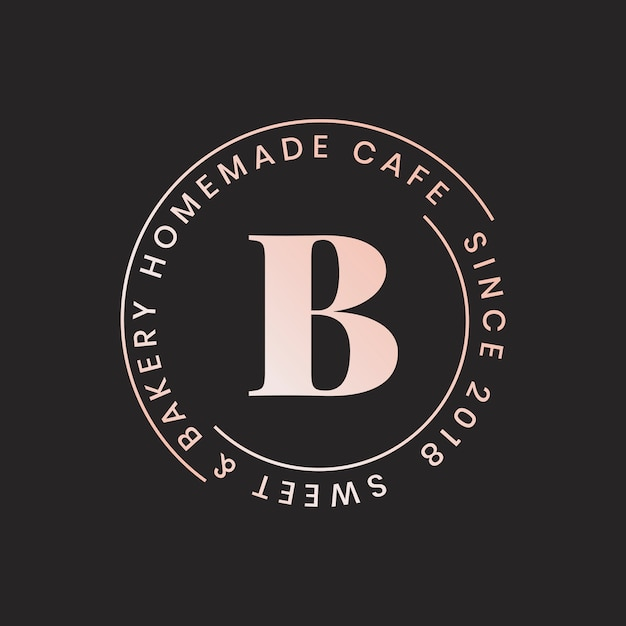 Logo for cafes Free Vector