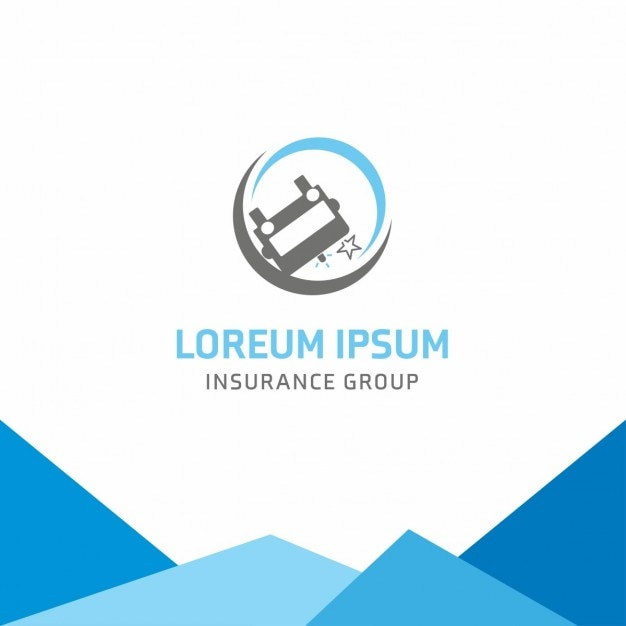 Logo car insurance Vector | Free Download
