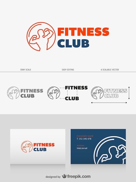 Club Logo Maker Logo Design Fitness Club