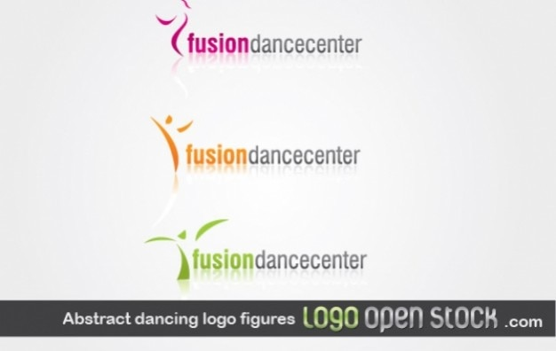 Logo fusiondancecenter Free Vector