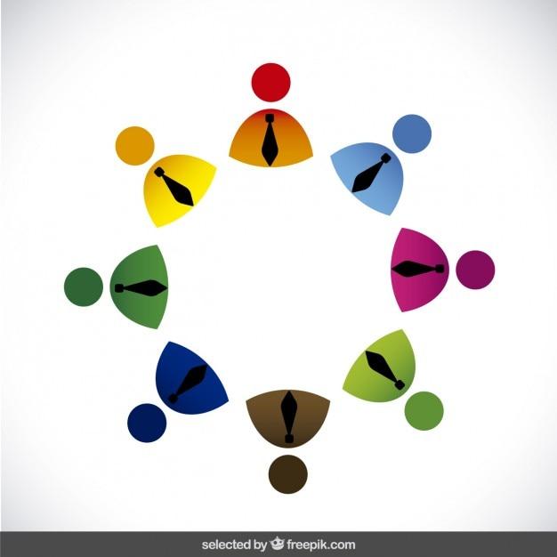 Avatar Logo: Logo Made With Businessman Avatar Vector