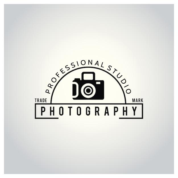 Logo for photography studio Free Vector