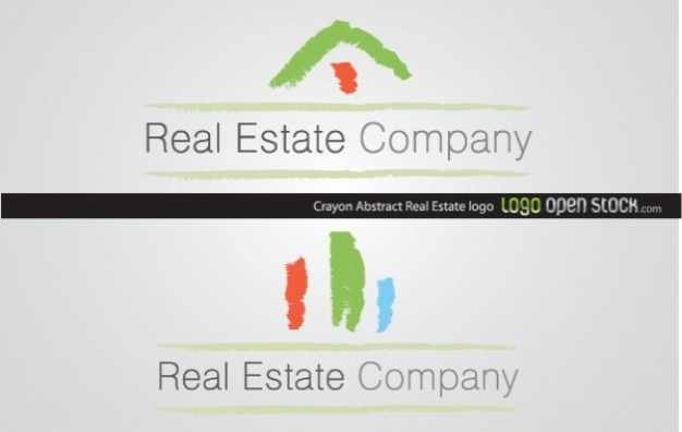 Logo Real Estate Company do it with Crayon