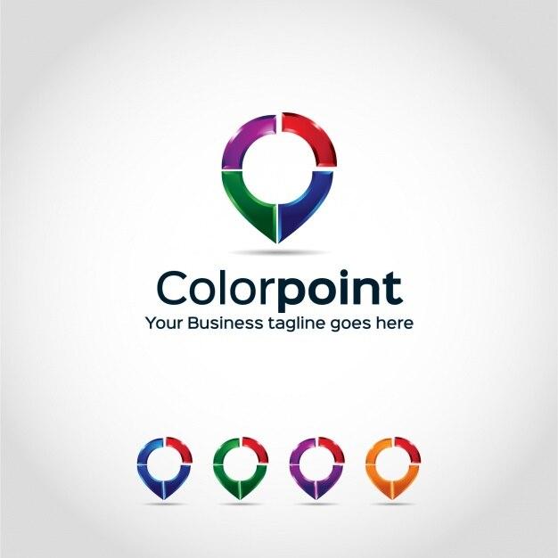 Logo template design Free Vector
