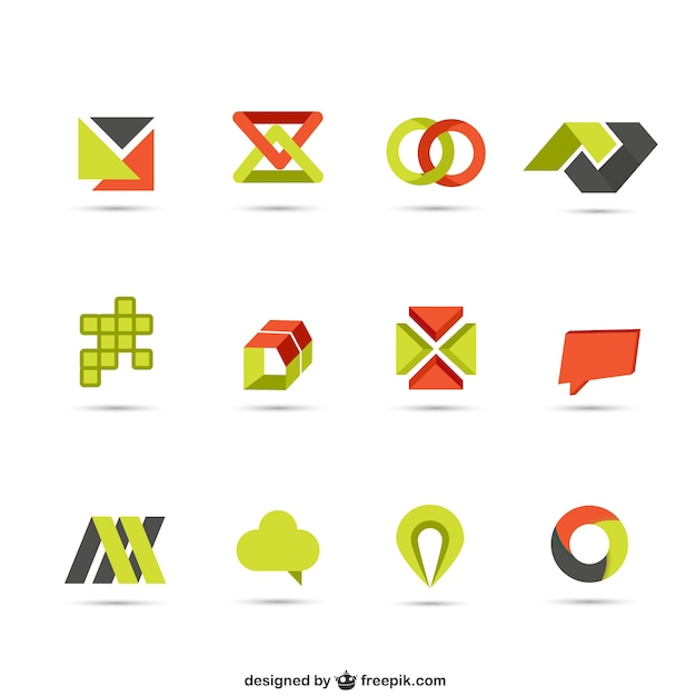 Logotypes collection Premium Vector