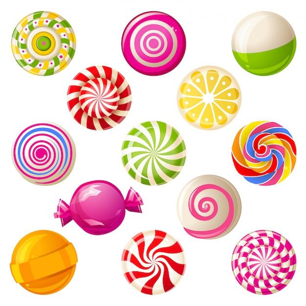 Lollipops Premium Vector