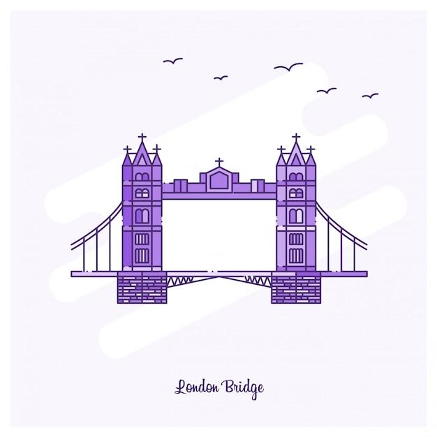 London bridge ориентир Premium векторы