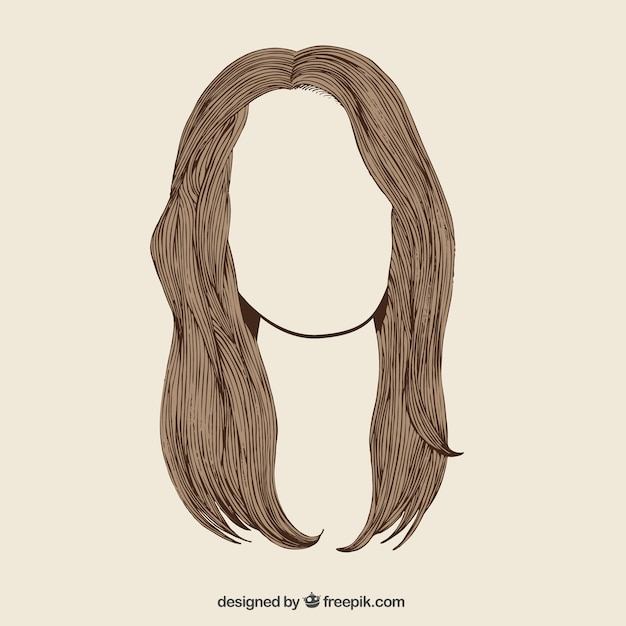 hair vector images - photo #13