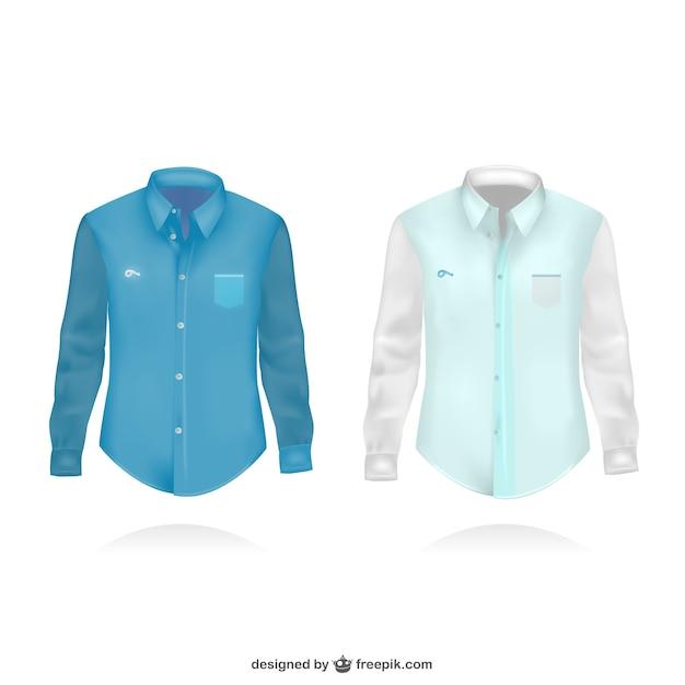 Long sleeve shirt illustration Free Vector