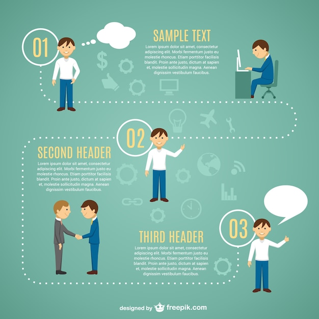 looking for job infographic template vector