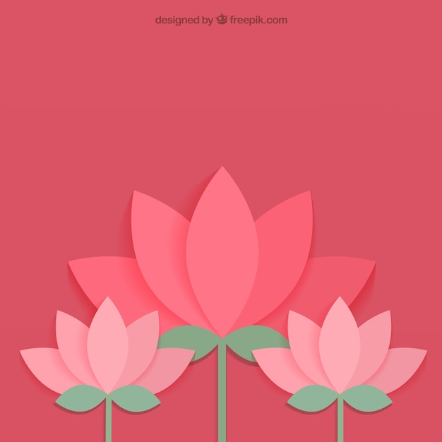 Lotus Flower Vector Free Download