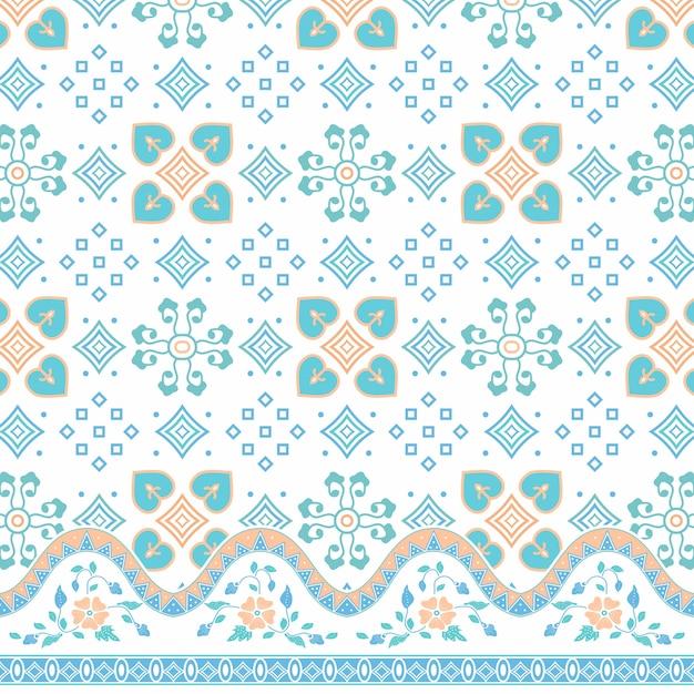 Love batik Premium Vector