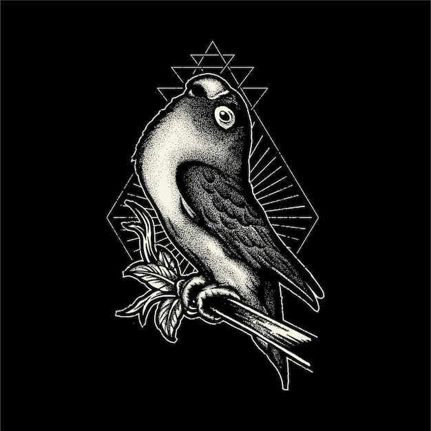 premium vector love bird illustration https www freepik com profile preagreement getstarted 2234724