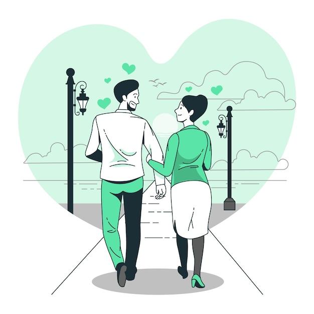 愛の概念図 無料ベクター