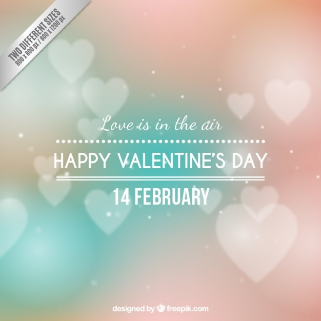 Love is in the air background Free Vector