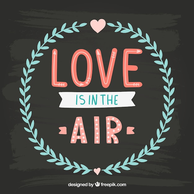 Download Love is in the air Vector | Free Download