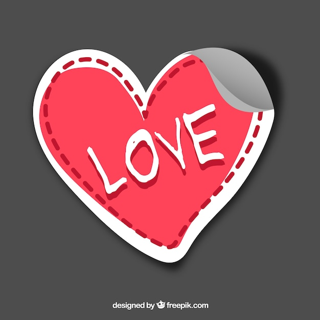 Love Sticker Vector Free Download Enchanting Love Photo Download