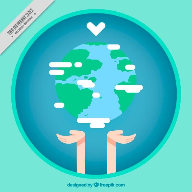Love the world, humanitarian day