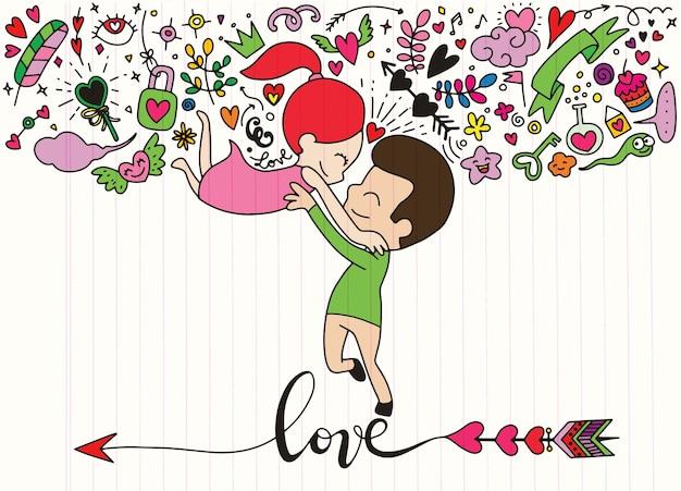 Love theme Vector | Premium Download
