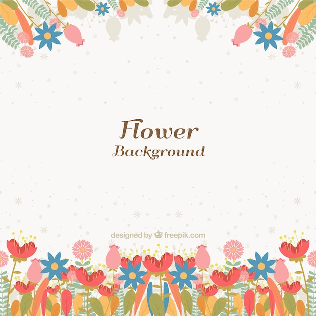 Lovely Background With Colorful Flowers Stock Images Page
