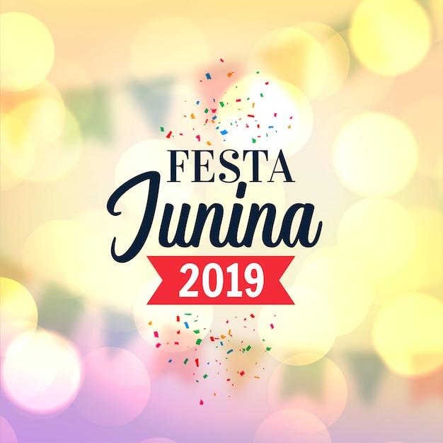 Lovely festa junina Free Vector