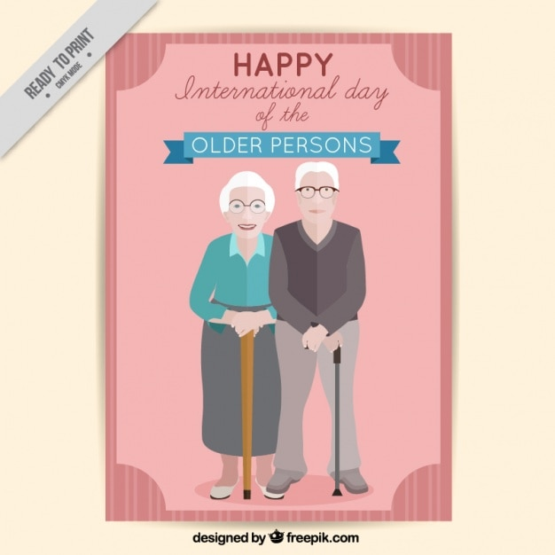 Lovely grandparents card