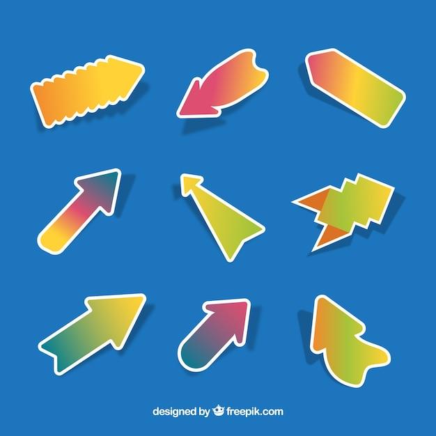 Lovely pack of modern arrows