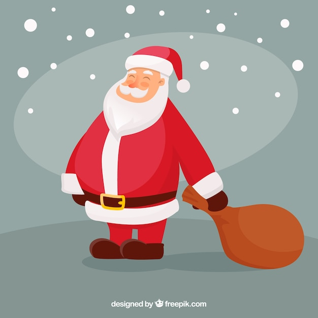 Lovely santa claus character