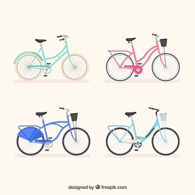 Lovely set of modern bikes