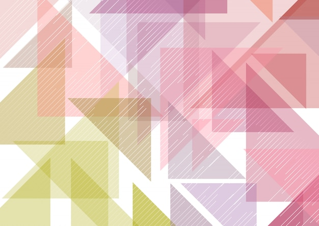 Low poly abstract background Free Vector