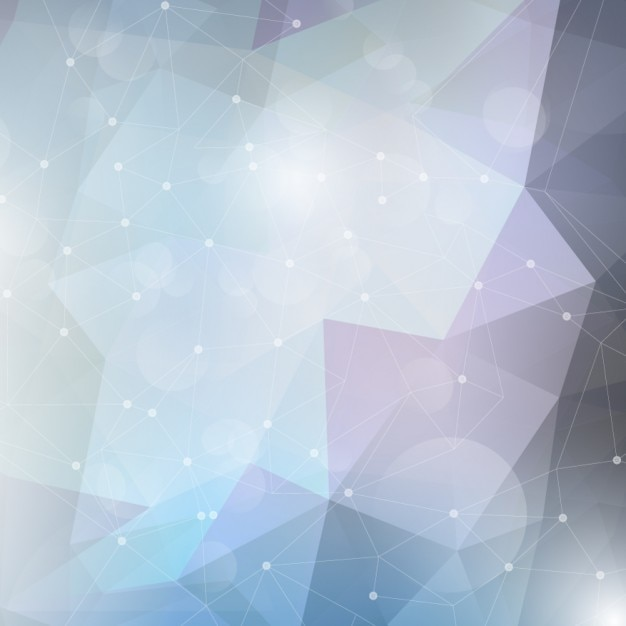 Low Poly Background With Mesh Free Vector