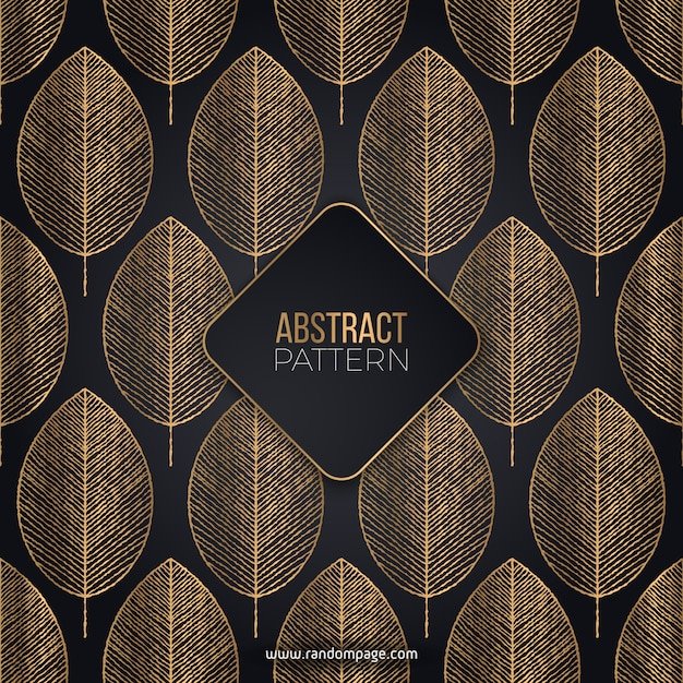 Luxury abstract pattern Free Vector