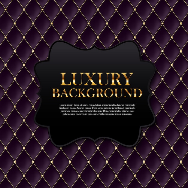 Luxury background with text template Premium Vector
