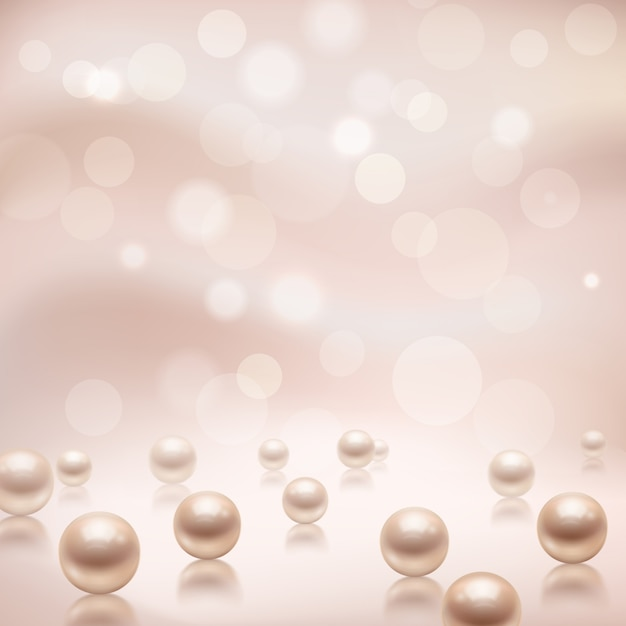 Luxury beautiful shining jewellery background Free Vector