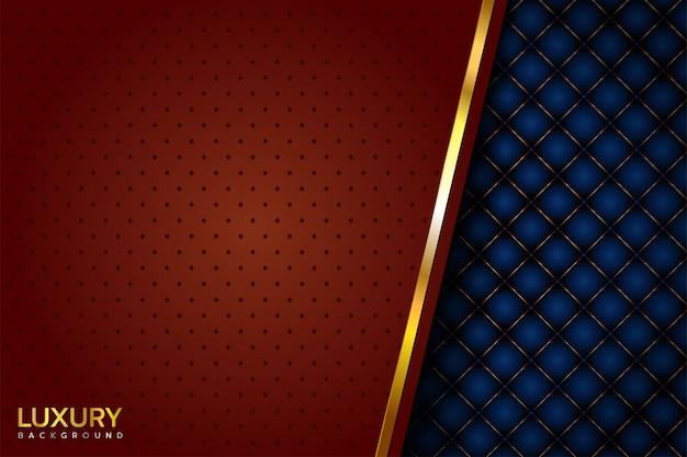 Luxury blue brown background Premium Vector