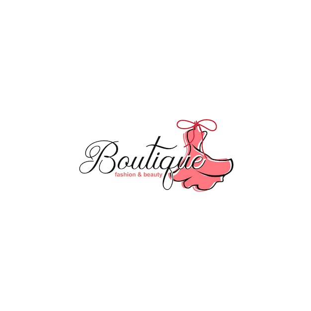 Luxury boutique logo templates Premium Vector